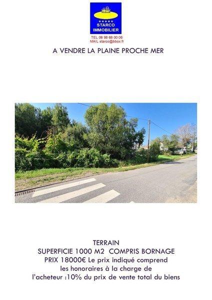 Terrain, 1 000 m² Terra…