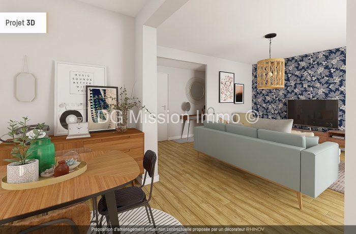 Appartement, 67 m² À vél…