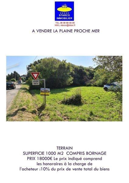 Terrain, 1 000 m² À ven…