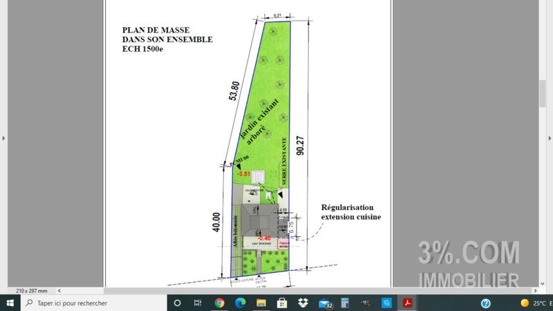 Terrain, 1 340 m² L'age…