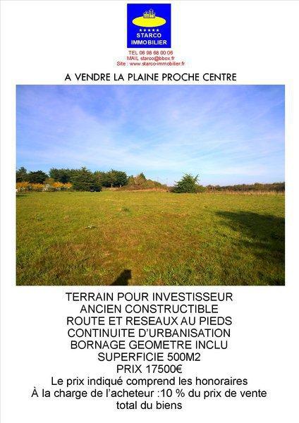 Terrain, 500 m² Terra…