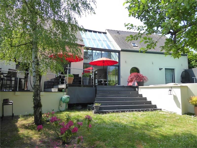 Maison Contemporaine Toiture Terrasse Oise - Immojojo