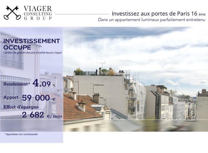 16eme Arrondissement Paris Terrasse Immojojo