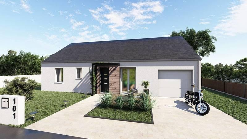 Maison, 85 m² DECOU…
