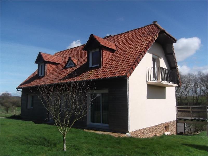 Maison Moderne Grande Baie Vitree - Immojojo