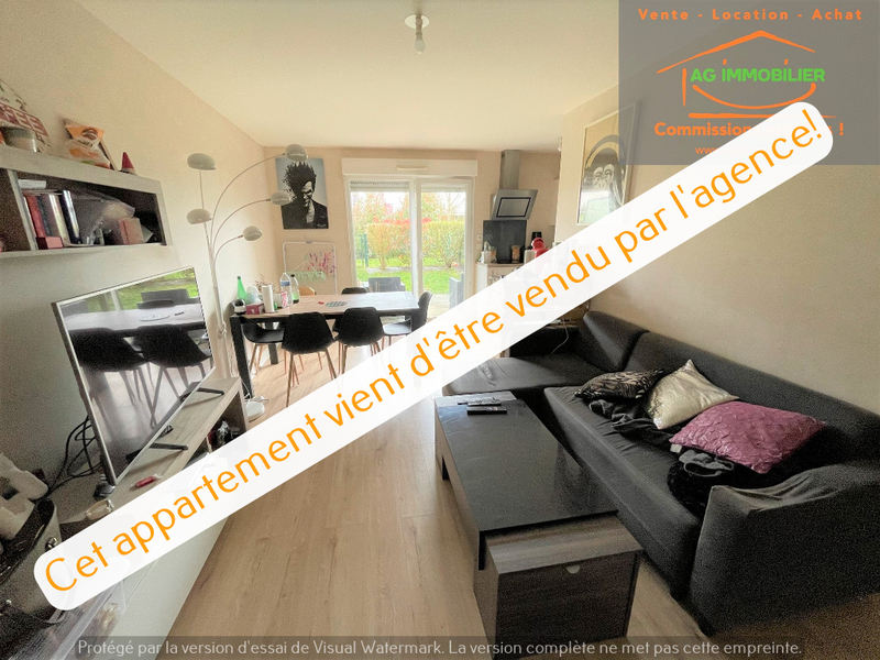 Appartement, 44,16 m² AG IM…