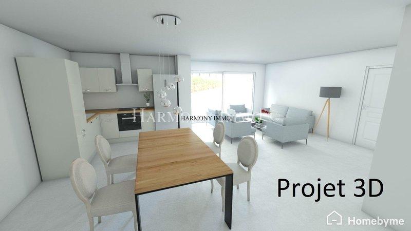Appartement, 64 m² Ile d…