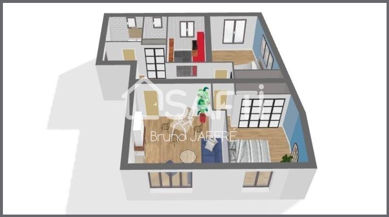 Appartement, 65 m² Bel a…