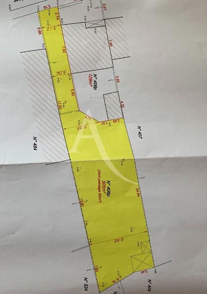 Terrain, 305 m² LA CH…