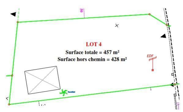 Terrain, 457 m² A VEN…