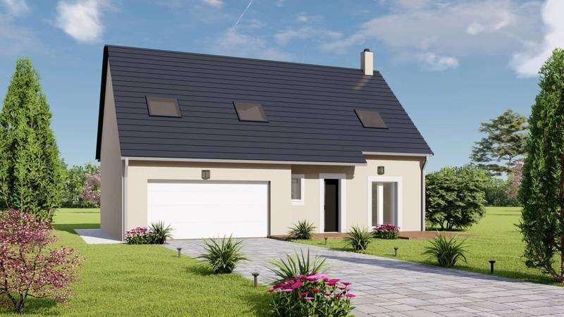 Maison, 104 m² Le No…