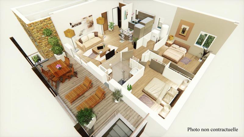 Appartement, 65 m² Retro…