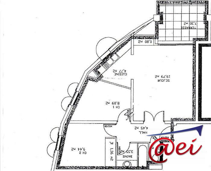 Appartement, 58 m² Proch…