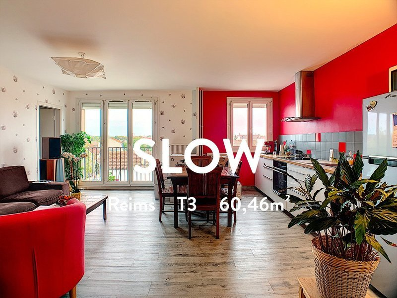 Appartement, 60,46 m² Prene…