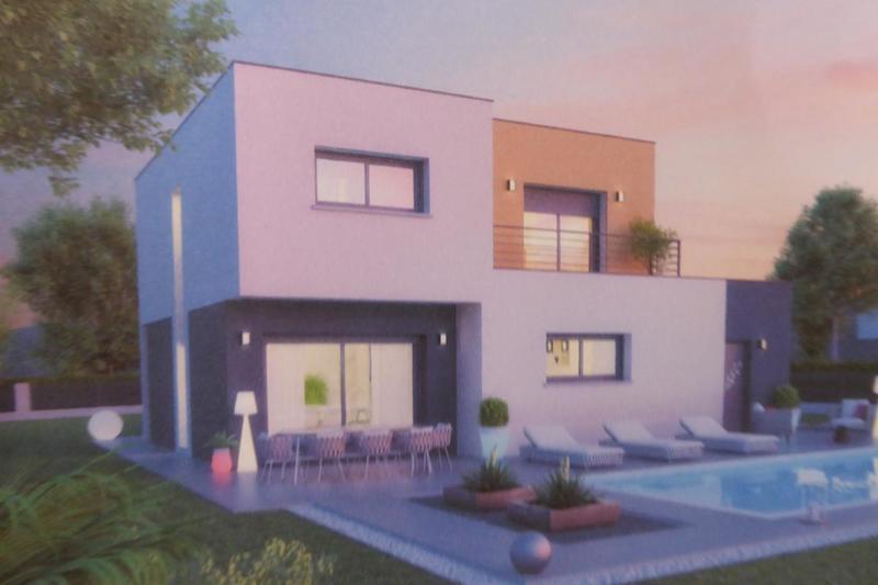 Plans Maison Toit Terrasse Moderne Immojojo