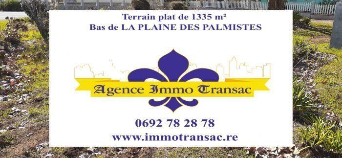 Terrain, 1 335 m² LA PL…