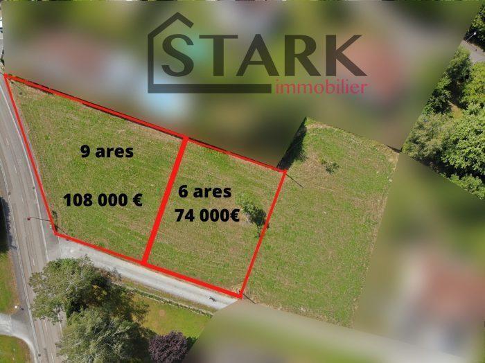 Terrain, 900 m² STARK…