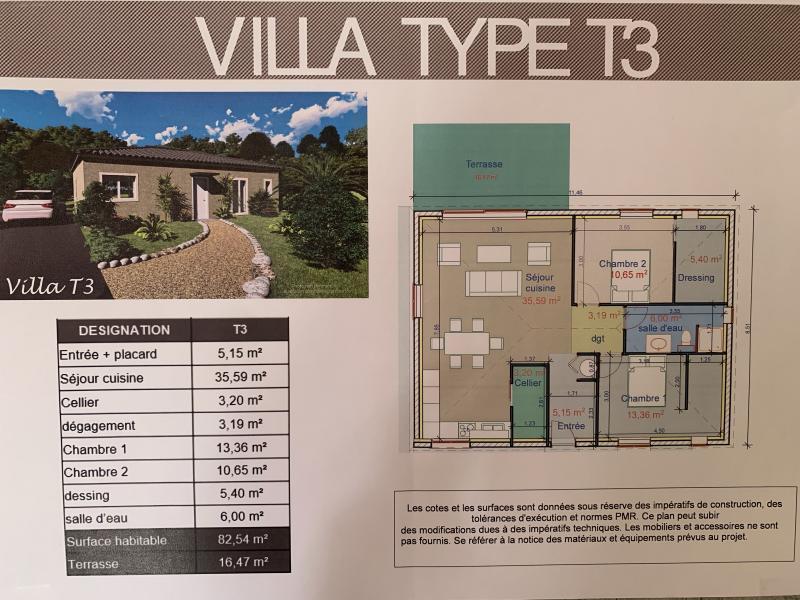 Maison, 83 m² Vend …