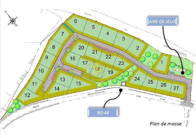 Terrain, 597 m² L'age…