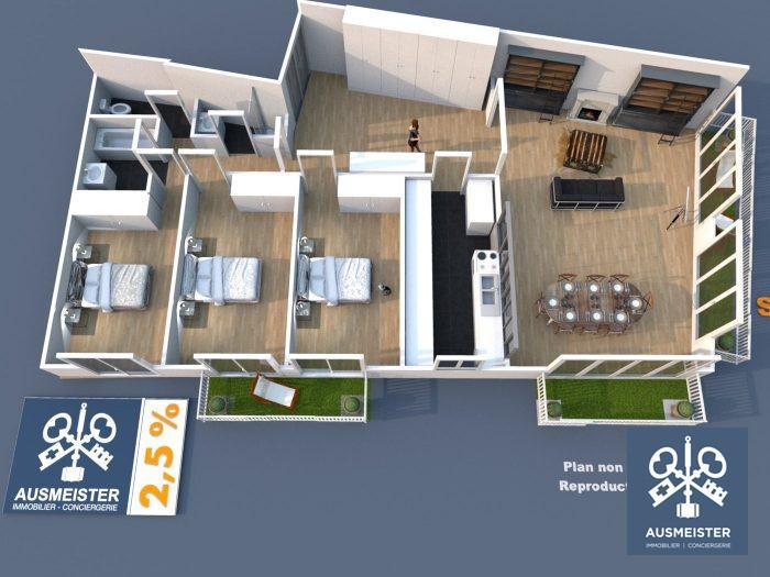 Appartement, 104 m² Dans …