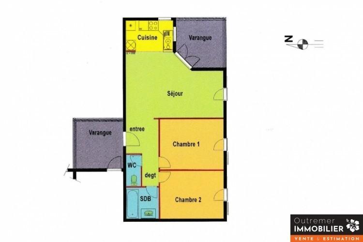 Appartement, 62 m² Résid…