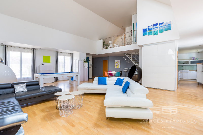 Mezzanine Ouverte Interieur - Immojojo