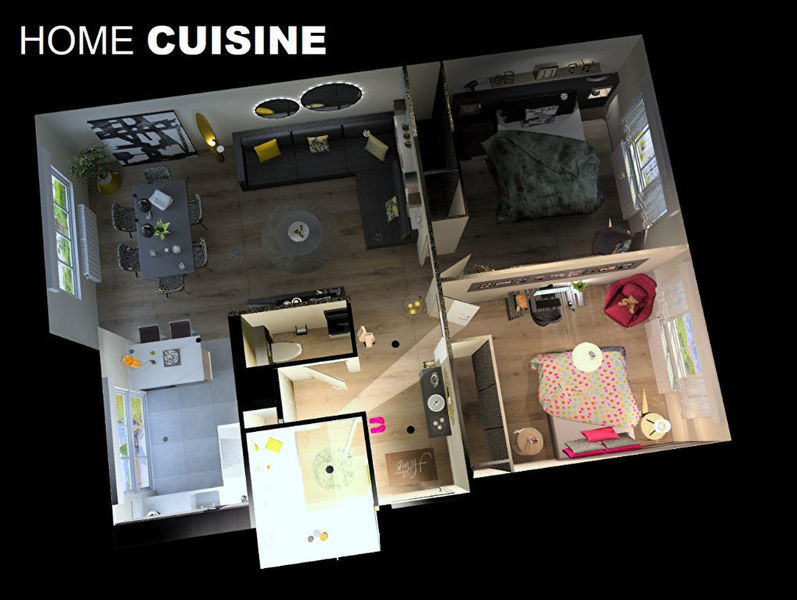 Appartement, 73 m² Dans …