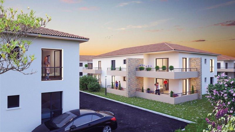 Appartement, 47,3 m² Appar…