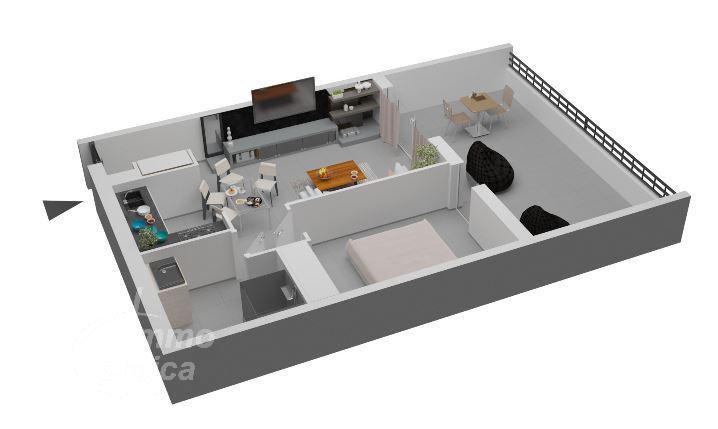 Appartement, 47 m² L'équ…