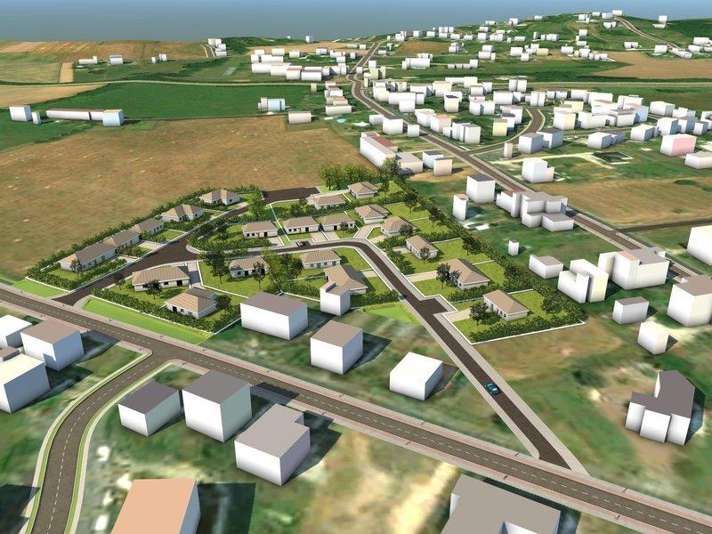 Terrain, 709 m² Terra…