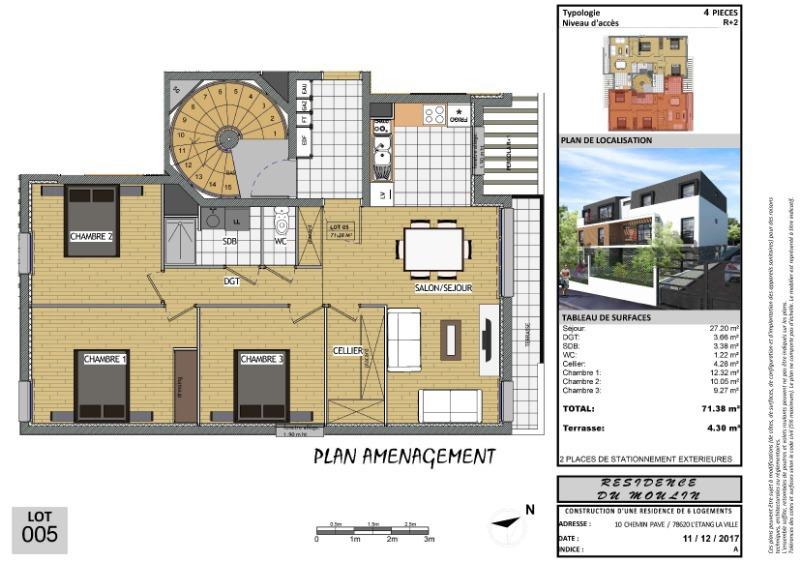 Appartement, 72 m² EXCEP…