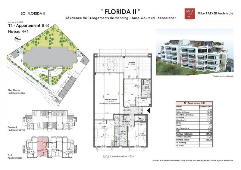 Appartement, 107 m² À Sch…