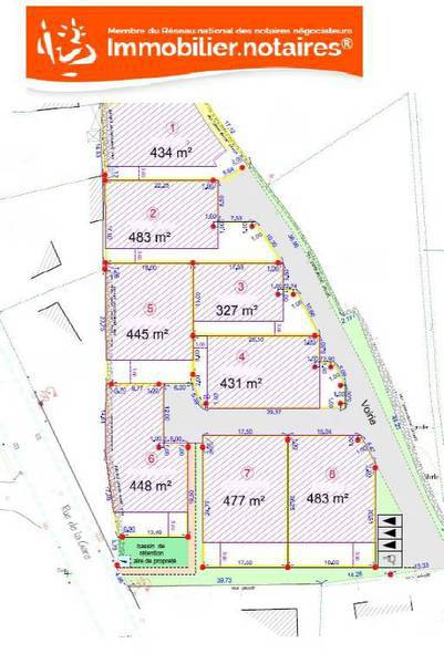 Terrain, 483 m² Achat…
