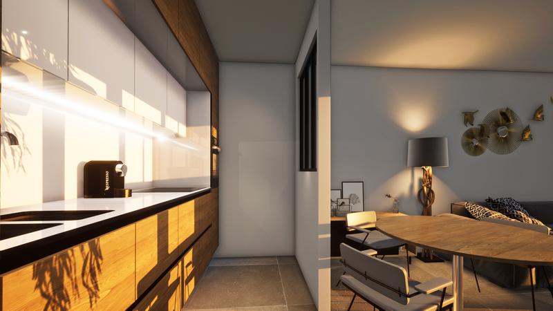 Appartement, 62,1 m² Doté …
