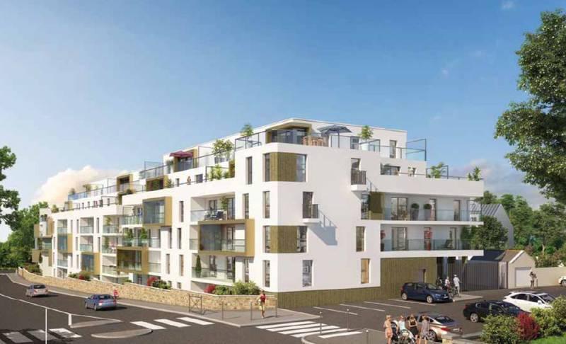Residence Rez Jardin Rennes Terrasse - Immojojo