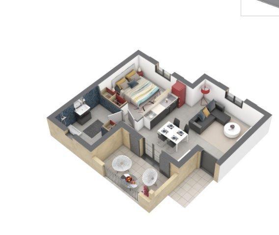 Appartement, 42,67 m² Derni…