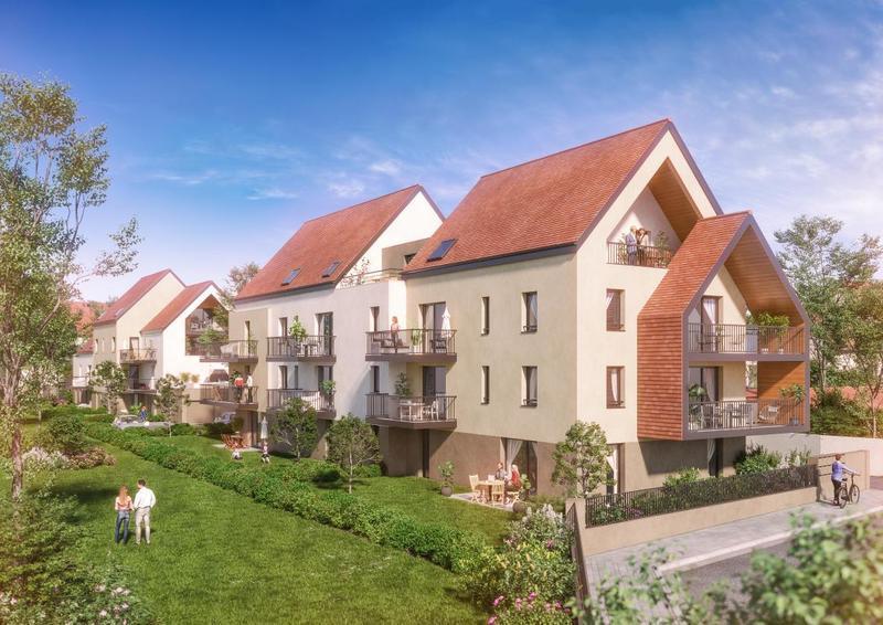 Appartement neuf, 61 m² Décou…