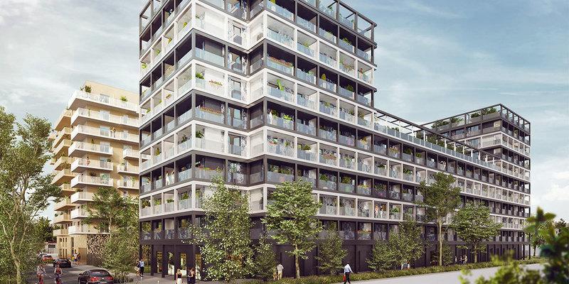 Appartement neuf, 45,88 m² TRAVA…