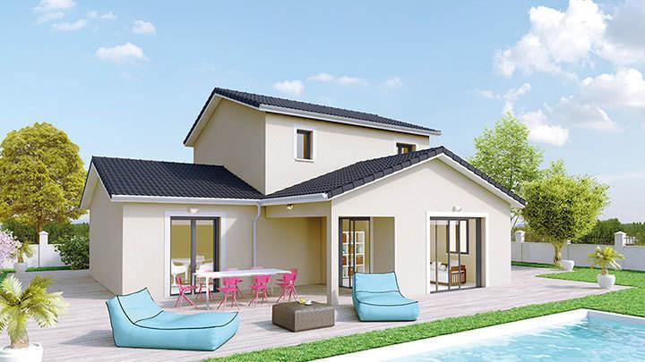 Maison neuve, 115 m² Sur u…