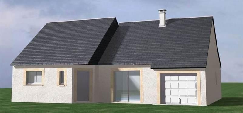 Maison neuve, 94 m² Rivar…