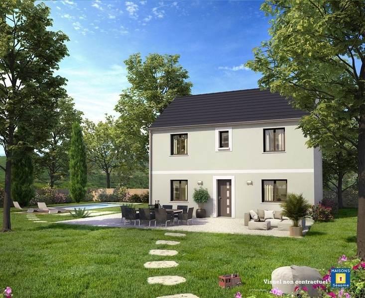 Maison neuve, 105 m² PROJE…