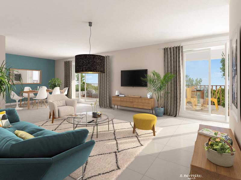 Appartement neuf, 42,18 m² Penda…