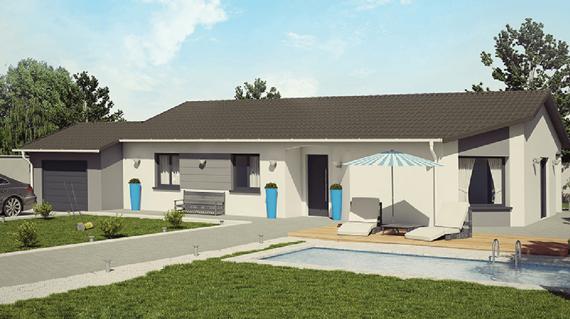 Maison neuve, 97 m² Sur u…