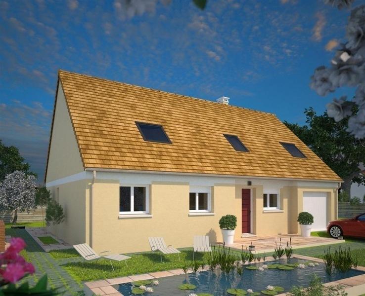 Maison neuve, 72 m² La Ch…