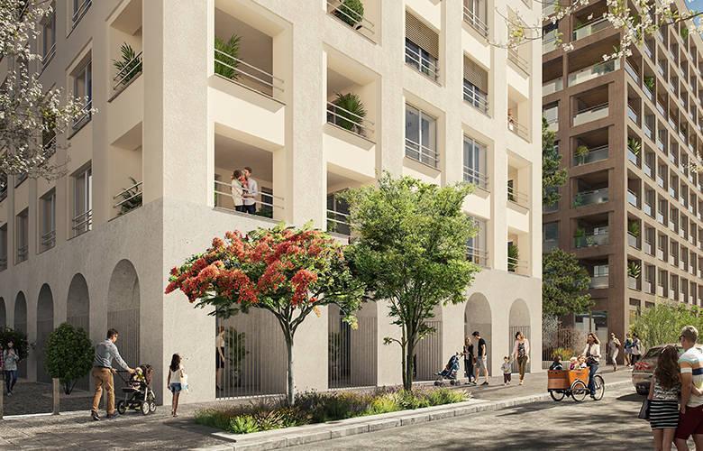 Appartement neuf, 48,44 m² Arrêt…