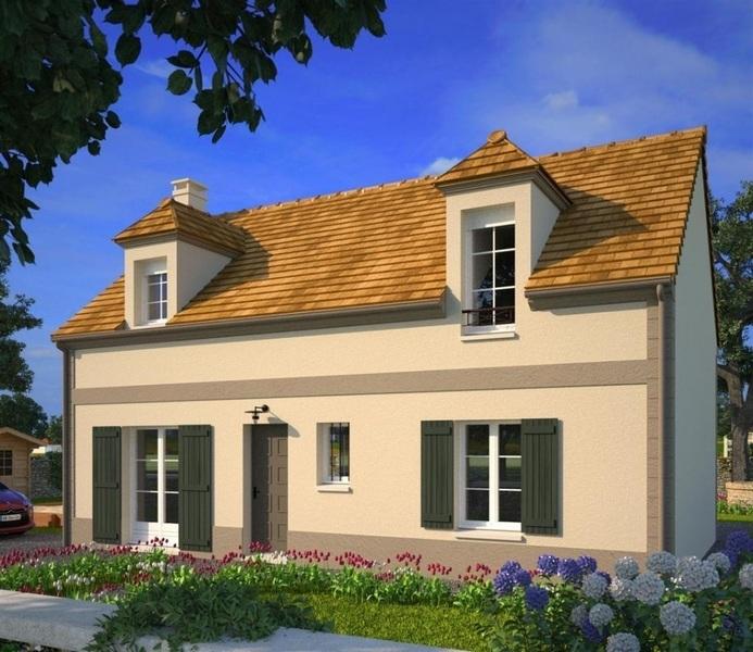 Maison neuve, 102 m² Sur l…