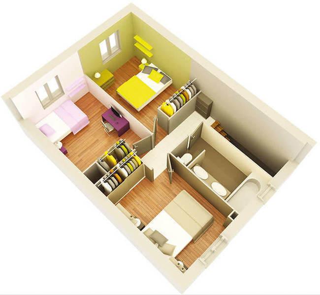Maison neuve, 90 m² Deven…
