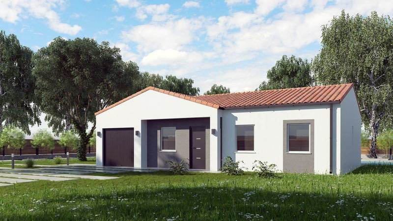 Maison neuve, 78 m² Ce no…