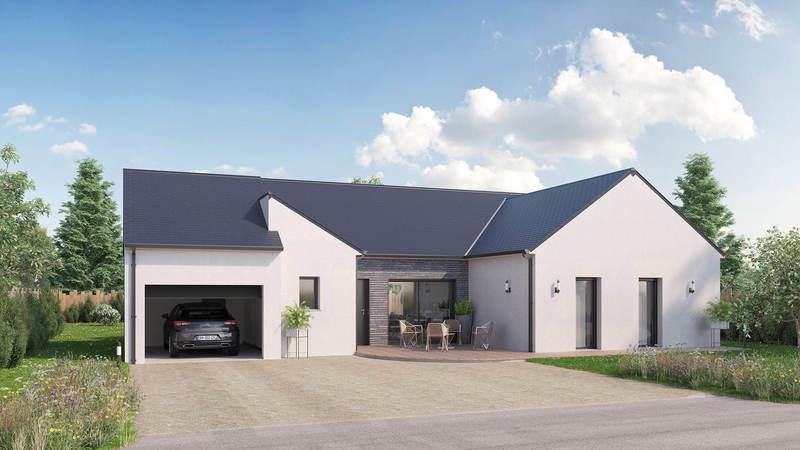 Maison neuve, 110 m² PEZE …
