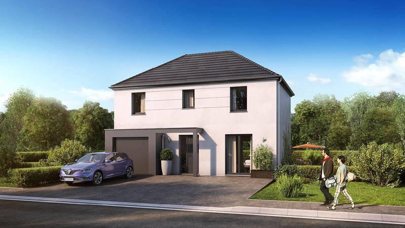 Maison neuve, 102 m² Yanni…